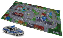 Игровой коврик Creatix SOS   +  1 die-cast машинка Majorette 2056411