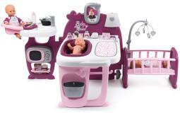 Большой игровой центр для кукол  Baby Nurse 24акс. Smoby 220349
