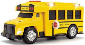 Школьный автобус со светом и звуком 15 см свет звук Dickie Toys 3302017