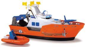 Спасательное судно 40 см свет звук водяной насос Dickie Toys 3308375