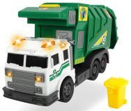 Машинка мусоровоз зеленый  39 см свет звук  Dickie Toys 3308378