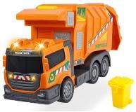 Машинка мусоровоз оранжевый 39см свет звук  Dickie Toys 3308383