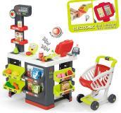 Детский супермаркет с тележкой 42акс Smoby 350213