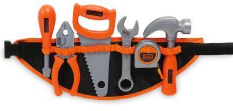 Поясной ремень с инструментами Black&Decker Smoby 360107