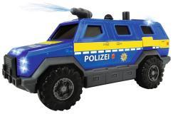 Машинка полицейский внедорожник 18 см свет звук водяной насос Dickie Toys 3713009