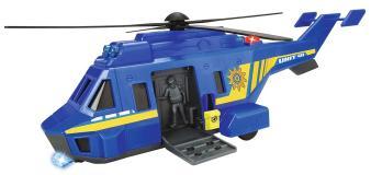 Полицеский вертолет 26см свет звук Dickie Toys 3714009