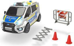Машинка полицеский минивэн Ford Transit 28 см свет звук  Dickie Toys 3715013