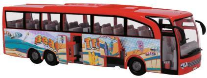 Туристический автобус фрикционный красный 30см Dickie Toys 3745005029