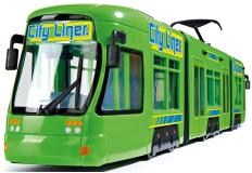 Игрушечный Городской трамвай 46 см зеленый Dickie Toys 3749005029