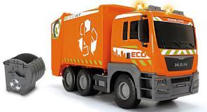 Машинка мусоровоз MAN 55 см свет звук Dickie Toys 3749024