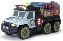Инкасаторский Грузовик со съемным сейфом 30 см свет звук Dickie Toys 3756005