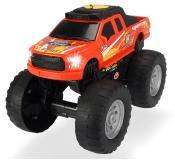 Ford Raptor Рейсинговый монстр-трак  моторизированный  25,5 см красный  свет звук  Dickie Toys 3764018
