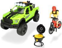 Игровой набор велосипедиста Ford Raptor PlayLife 25 см свет звук Dickie Toys 3835003