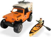 Игровой набор туриста Jeepster Commando 22 см свет звук PlayLife Dickie Toys 3835004