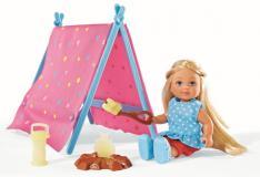 Кукла Еви 12 см набор Кемпинг Simba 5732360