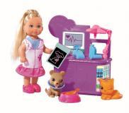 Кукла Еви 12 см набор Ветеринар Simba 5732798