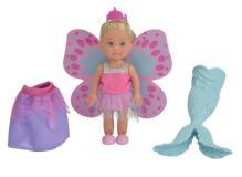 Кукла Еви 12 см в трех образах: русалочка, принцесса и фея Simba 5732818