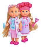Кукла Еви 12 см набор Любимая работа 2 вида Simba 5733042