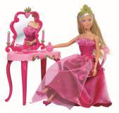 Кукла Штеффи принцесса и столик 29 см Simba 5733197