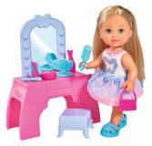 Кукла Еви 12 см с туалетным столиком  Simba 5733231