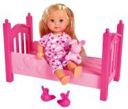 Кукла Еви 12 см Набор Лечим ветрянку Simba 5733407
