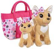 Плюшевые собачки 20 см 14 см Chi-Chi love Счастливая семья Simba 5893213