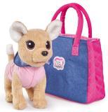 Плюшевая собачкa Chi chi love Городская мода с сумочкой и стикерами Simba 5893244