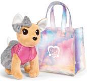 Плюшевая собачка Chi-Chi Love , 20 см Собачка в прозрачной сумочке Simba 5893432