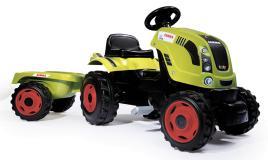 Трактор педальный XL с прицепом CLAAS Smoby 710114