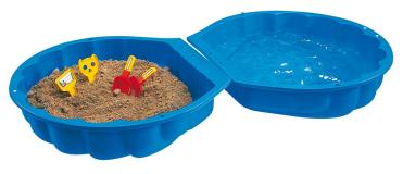Песочница ракушка синяя Sand BIG 7711