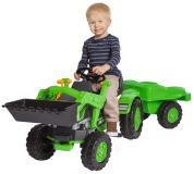 Детский педальный трактор с прицепом 800056516