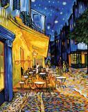 Картина по номерам 40х50см, Репродукция «Ночное кафе» Ван Гог Schipper 9130359