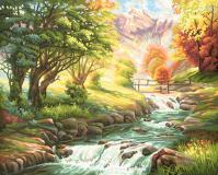 Картина по номерам 40х50см, Горная река Schipper 9130412