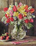 Картина по номерам 40х50см, Цветы из домашнего сада Schipper 9130790