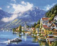 Картина по номерам 40х50см, На озере Халльштатт Schipper 9130802