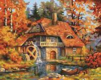 Картина по номерам 24х30см, Старая Мельница Schipper 9240799