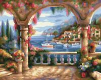 Картина по номерам 24х30см, Вилла у моря Schipper 9240800