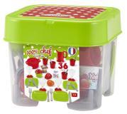 100% Chef Набор детской посуды в коробке, 36 пр. Ecoiffier 2603