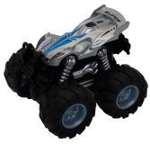 Машинка гоночная die-cast 4*4, фрикционная, двойной реверс, серебристая Funky toys FT61033