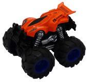 Машинка гоночная die-cast, 4*4, фрикционная, двойной реверс, оранжевая Funky toys FT61034