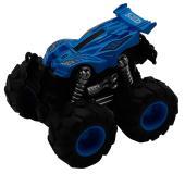 Машинка гоночная die-cast, 4*4, фрикционная, двойной реверс, синяя Funky toys FT61036
