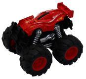 Машинка гоночная die-cast, 4*4, фрикционная, двойной реверс, красная Funky toys FT61037