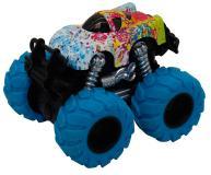 Машинка гоночная die-cast, 4*4, фрикционная, двойной реверс, синие колеса Funky Toys FT61040