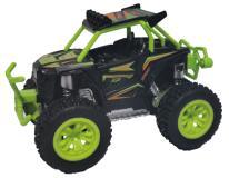 Багги die-cast, инерционный механизм, рессоры, свет, звук, зеленый, 1:24 Funky toys FT61061