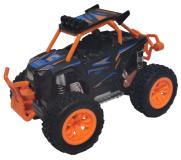 Багги die-cast, инерционный механизм, рессоры, свет, звук, оранжевый, 1:24 Funky toys FT61062