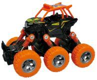 Багги die-cast, инерционный механизм, рессоры, 6*6, оранжевый Funky toys FT61068