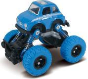 Машинка die-cast, инерционный механизм, рессоры, синяя, 1:46 Funky toys FT61072