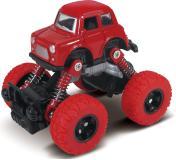 Машинка die-cast, инерционный механизм, рессоры, красная,  1:46  Funky toys FT61073