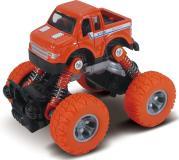 Машинка die-cast, инерционный механизм, рессоры, оранжевая, 1:46  Funky toys FT61074