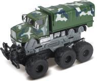 Военная техника с краш-эффектом, кабина die-cast,  фрикционная, 6*6, 1:43 Funky toys FT61090